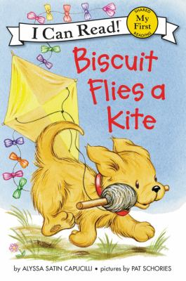 Cover image for Biscuit flies a kite