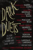 Cover image for Dark duets : all-new tales of horror and dark fantasy