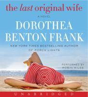 Cover image for The last original wife