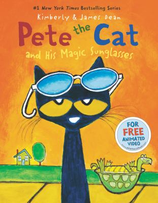Cover image for Pete the Cat and his magic sunglasses