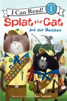 Cover image for Splat the Cat and the hotshot