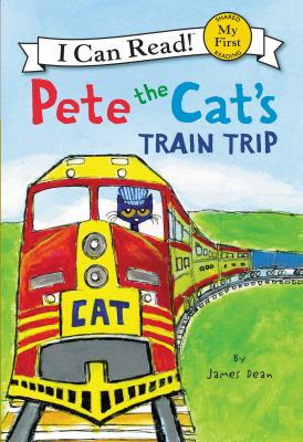 Cover image for Pete the Cat's train trip