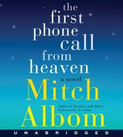Cover image for The first phone call from Heaven : a novel