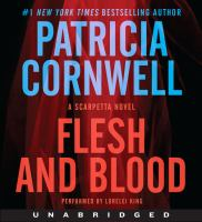 Cover image for Flesh and blood : a Scarpetta novel