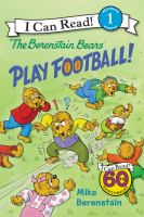 Cover image for The Berenstain Bears play football!