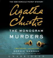 Cover image for The monogram murders