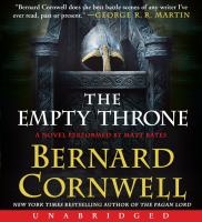 Cover image for The empty throne : a novel