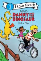 Cover image for Syd Hoff's Danny and the dinosaur ride a bike