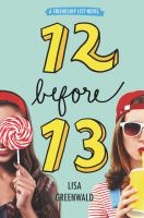 Cover image for 12 before 13