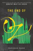 Cover image for The end of Oz