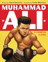 Cover image for Muhammad Ali : a champion is born