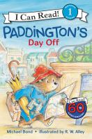 Cover image for Paddington's day off