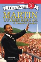 Cover image for Martin Luther King Jr. : a peaceful leader