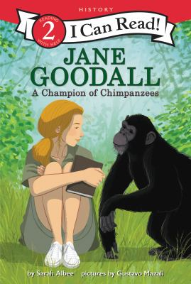 Cover image for Jane Goodall : a champion of chimpanzees