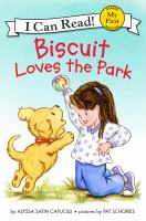 Cover image for Biscuit loves the park