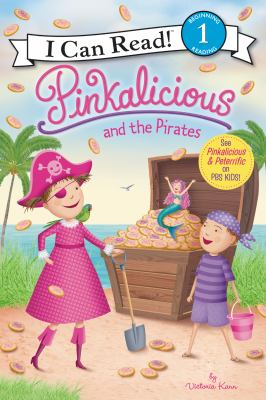 Cover image for Pinkalicious and the pirates