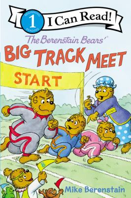 Cover image for The Berenstain bears' big track meet