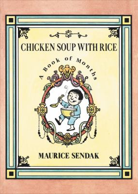 Cover image for Chicken soup with rice : a book of months