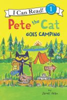 Cover image for Pete the Cat goes camping
