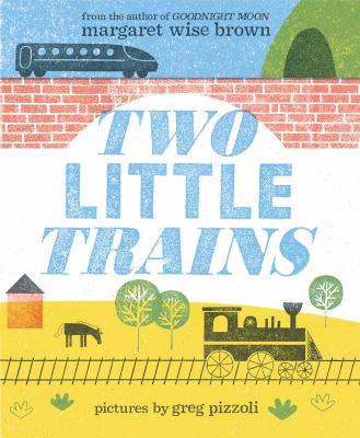 Cover image for Two little trains