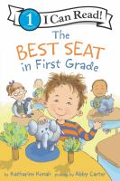 Cover image for The best seat in first grade
