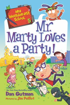 Cover image for Mr. Marty loves a party!