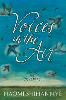 Cover image for Voices in the air : poems for listeners