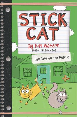 Cover image for Stick cat : two cats to the rescue
