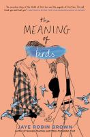 Cover image for The meaning of birds