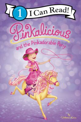 Cover image for Pinkalicious and the pinkadorable pony