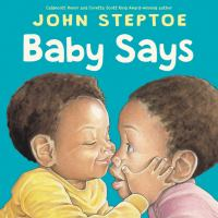 Cover image for Baby says