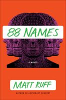 Cover image for 88 names : a novel