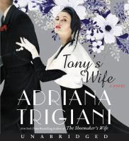 Cover image for Tony's wife