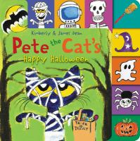 Cover image for Pete the Cat's happy Halloween