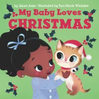 Cover image for My baby loves Christmas