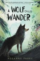 Cover image for A wolf called Wander
