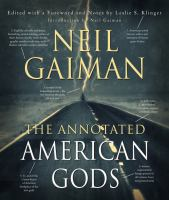 Cover image for The annotated American gods