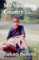 Cover image for My vanishing country : a memoir