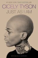 Cover image for Just as I am : a memoir
