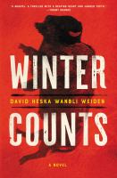 Cover image for Winter counts : a novel