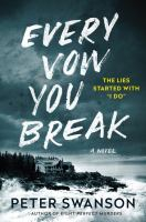 Cover image for Every vow you break : a novel