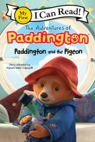 Cover image for Paddington and the pigeon