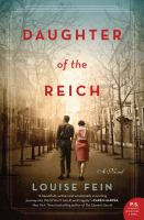 Cover image for Daughter of the Reich : a novel