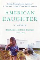 Cover image for American daughter : a memoir