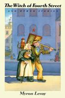 Cover image for The witch of Fourth Street, and other stories