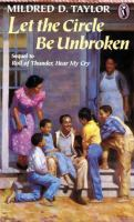 Cover image for Let the circle be unbroken