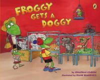 Cover image for Froggy gets a doggy