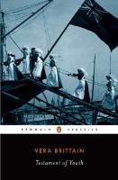 Cover image for Testament of youth : an autobiographical study of the years 1900-1925