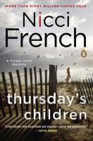 Cover image for Thursday's children