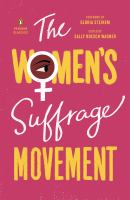 Cover image for The women's suffrage movement